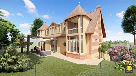 architecture maison 3d perspectives 3d d une maison individuelle 3dgraphiste fr