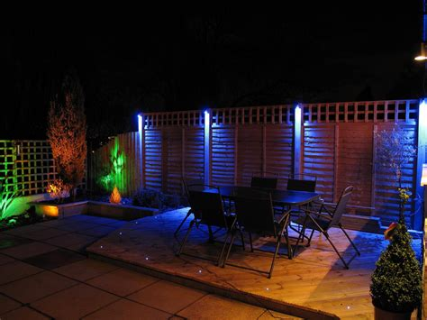 led backyard lighting led garden lights