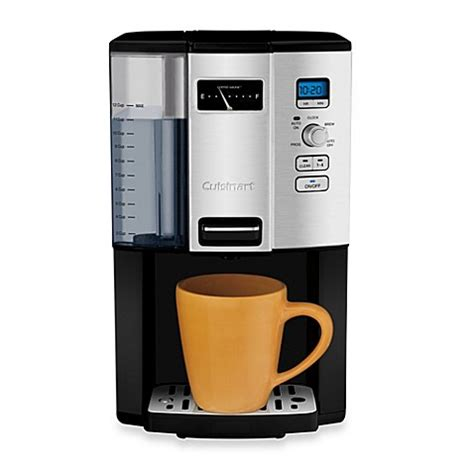 cuisinart coffee maker bed bath beyond buy cuisinart 174 coffee on demand 12 cup programmable
