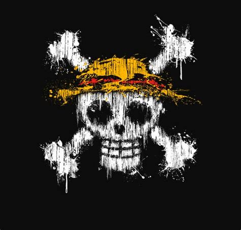 Kaos Jolly Roger jual kaos keren anime series one luffy logo
