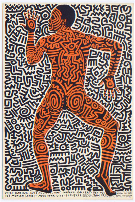 Single Garage Keith Haring S Album Covers T Shirts And More Go On View