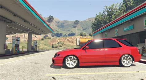subaru wagon 2002 subaru wagon gta5 mods com