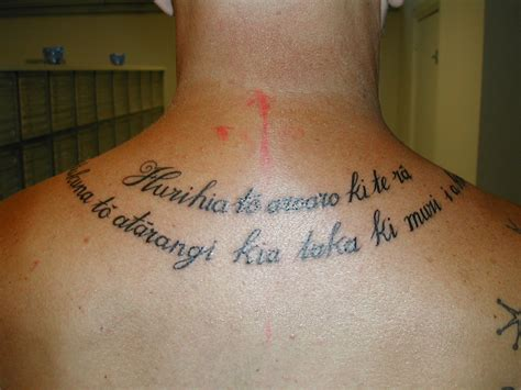 proverbs tattoos maori proverb contrariwise literary tattoos