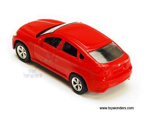 Die Cast City Vehicle 6 Pcs bmw x6 top by rmz city 3 diecast model car 355002