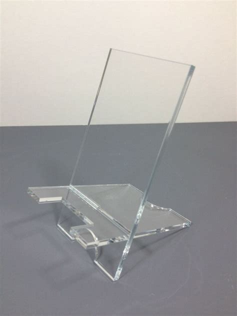 pack clear acrylic stand mount holder  cell phones