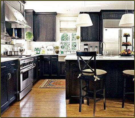 diy black kitchen cabinets white and black distressed cabinets roselawnlutheran