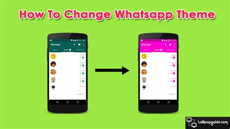 whatsapp users themes how to change whatsapp theme yes you can 2017
