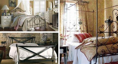 da letto con letto in ferro battuto letto in ferro battuto cosa abbinarci in