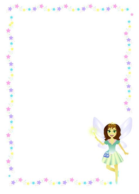 tooth fairy border templates www imgkid com the image
