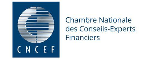 chambre nationale des huissiers annonce chambre nationale des conseils experts financiers cncef