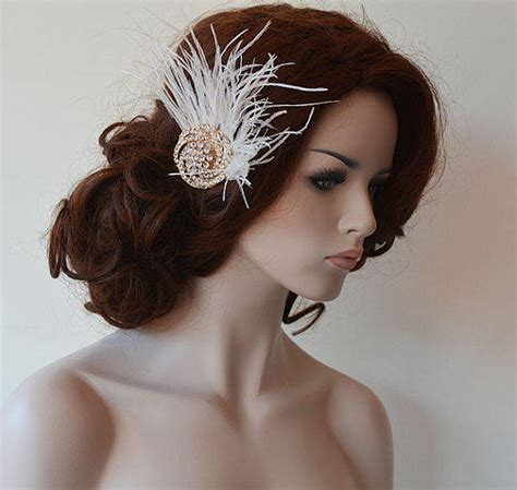 Wedding Hair Accessories New Jersey Wedding Hair Accessory Gold Bridal From Adbrdal On Etsy