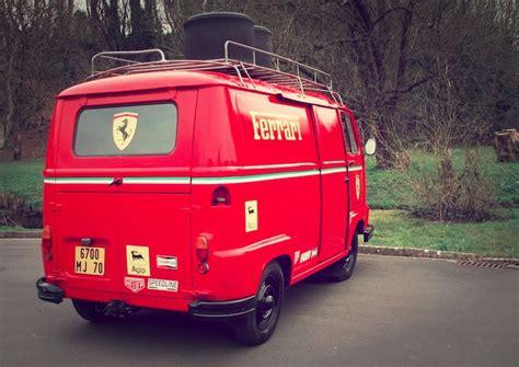 ferrari minivan 1979 renault estafette ferrari team van