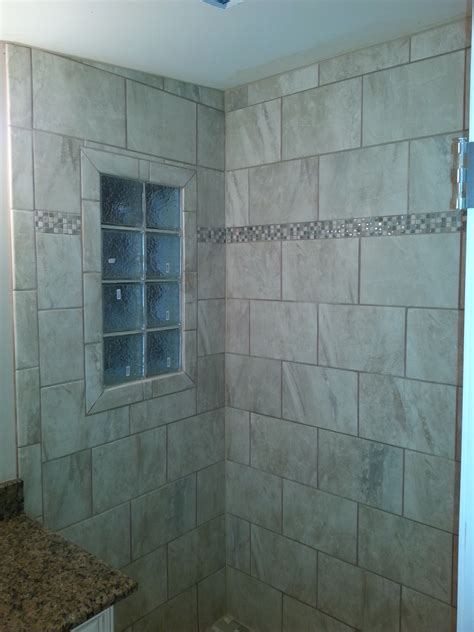 Glass Block Bathroom Ideas another custom tile bathroom landmark contractors