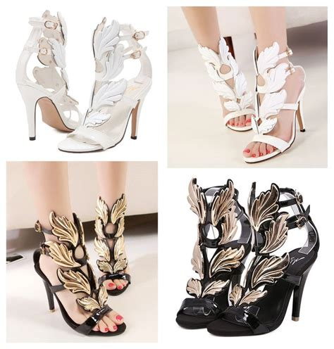 wing high heels gold wings high heels shop for gold wings high heels on