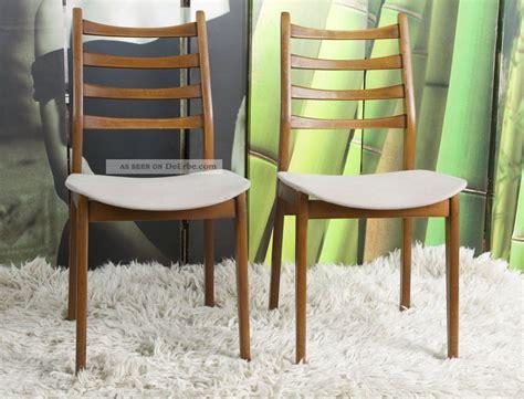 stuhl 60er design 2x teak stuhl d 228 nisches design 50 60er sixties vintage