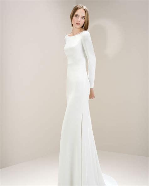 Embelished Bow Dress Minimal best 25 minimalist wedding dresses ideas on
