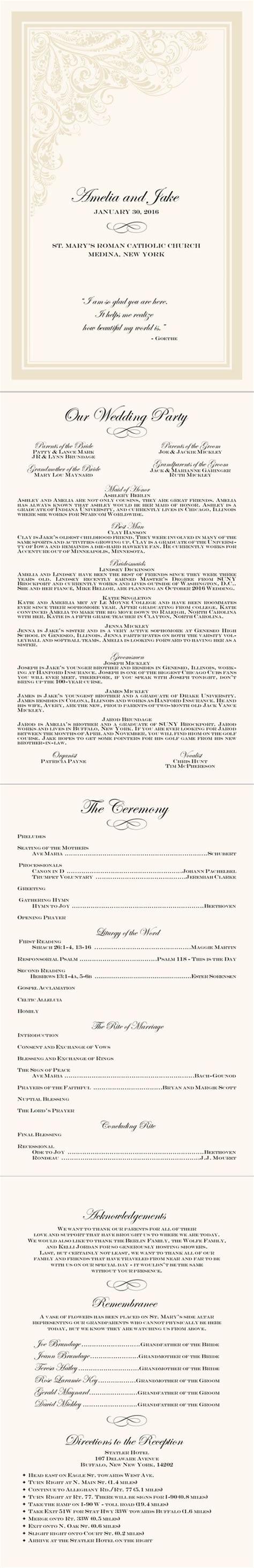 Layout Of Catholic Wedding Mass | catholic wedding ceremony layout an imaginary wedding