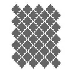 stencil template moroccan stencils template small scale for crafting