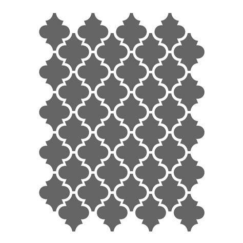 moroccan tile template moroccan stencils template small scale for crafting
