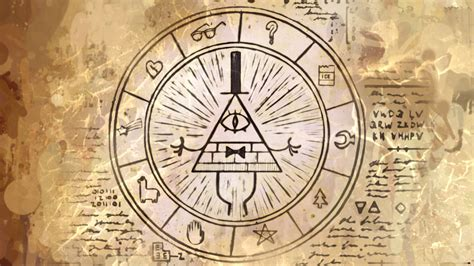 gravity falls bill cipher wheel bill cipher wheel of mystery gravity falls pinterest