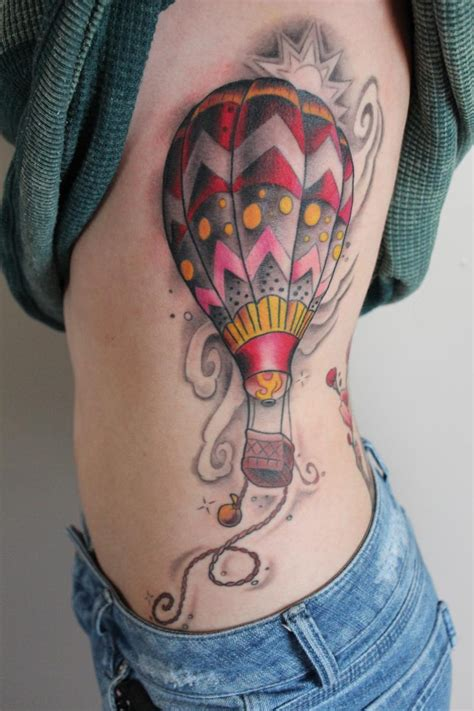 sexy tattoos air balloon tattoos designs ideas and meaning
