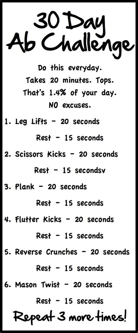 best 25 30 day workouts ideas on 30 day fitness 30 day challenge and 30 day