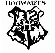 Harry Potter Hogwarts Coat Of Arms Cut Vinyl Wall Art