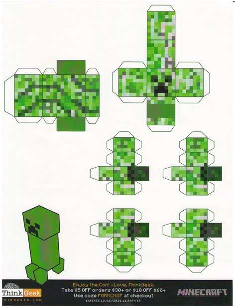 Papercraft Mincraft - minecraft papercraft minecraft paper crafts sponsored by