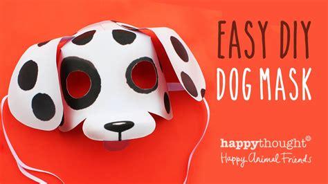 printable mask of a dog printable dog mask template patterns worksheets