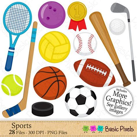 sport clipart sports clipart digital clip personal and