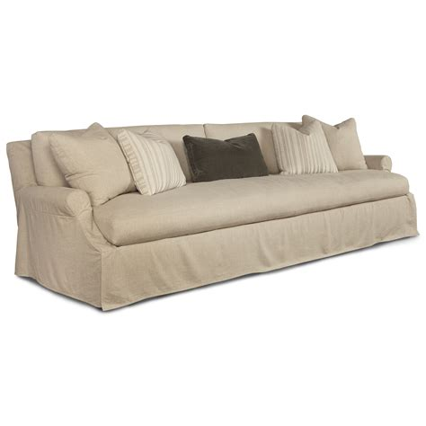 110 Inch Sofa by Robin Bruce Bristol 110 Inch Bench Seat Cushion Slipcover