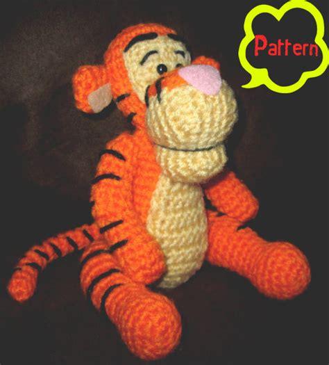 amigurumi pattern winnie the pooh pattern crochet winnie the pooh tigger amigurumi