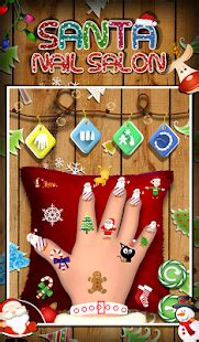 xlwt pattern color santa nail salon kids game android apps on google play