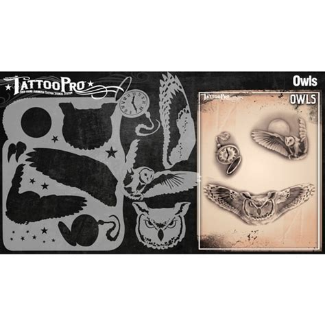 tattoo kit perth wiser s tattoo pro owls