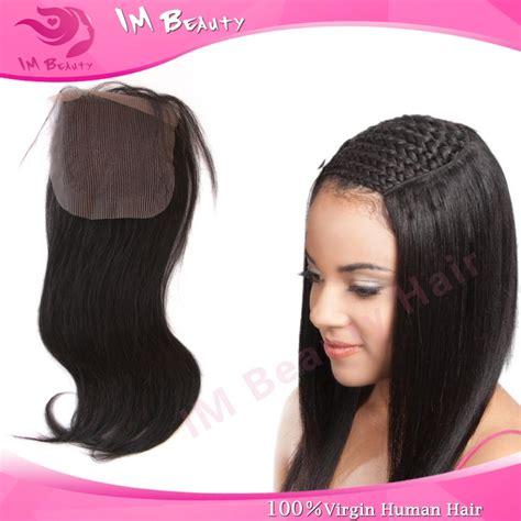 human hair lace closure filipino 4x4 lace top closure virgin straight human