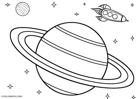 Galerry free printable planet coloring sheets