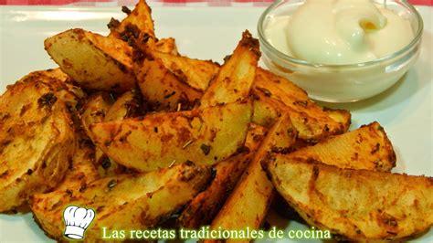 recetas de cocina horno receta de patatas al horno adobadas recetas de cocina