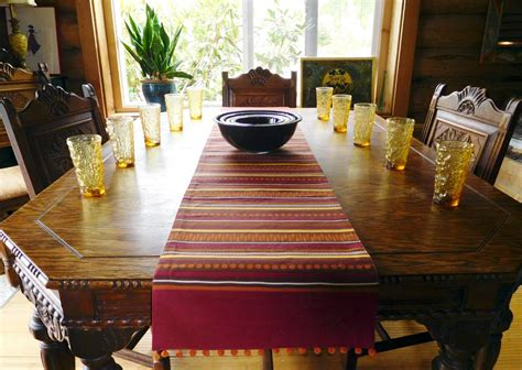 table runners for dining room table dining room table runners table runner yay or nay