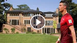 Soccer Bedrooms Cristiano Ronaldo House And Cars Video