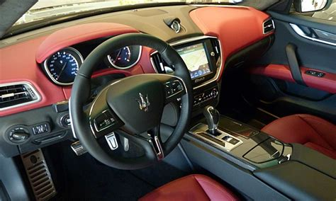 maserati ghibli brown interior maserati ghibli photos maserati ghibli interior in red