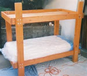 2x4 Bunk Bed Plans Woodwork Bunk Bed Plans 2x6 Pdf Plans