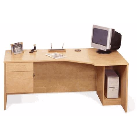 Computer Desk Unit Home Office Furniture Computer Desk Corner Curve Office Desk Unit