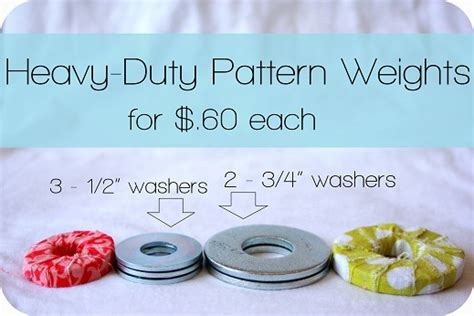 heavy pattern weights make diy fabric wrapped sewing pattern weights with