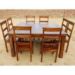 Rustic 9 pc square dining room table for 8 person seat chairs set fur