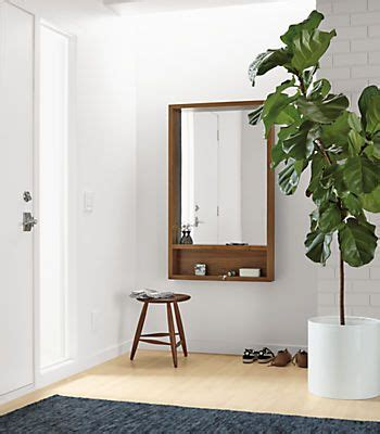 room and board planters loft mirrors with shelf terrace mirror with shelf and planters