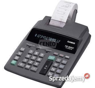 kalkulator casio fr 2650 kalkulator casio fr 2650 t sprzedajemy pl