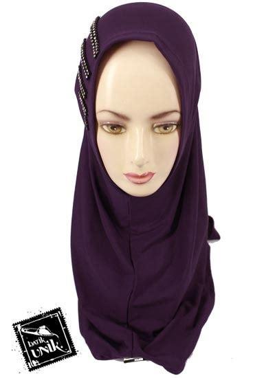 Permata Jilbab Jilbab Syria Permata Polos Spandek Warna Jilbab