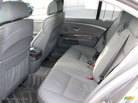 flannel grey interior 2002 bmw 7 series 745i sedan photo