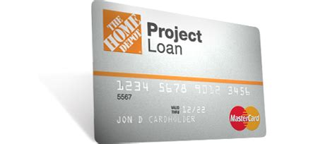 home depot loan credit card offers the home depot