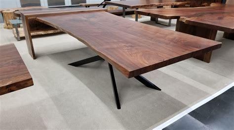 black walnut live edge table black walnut live edge dining table 2 jewell hardwoods